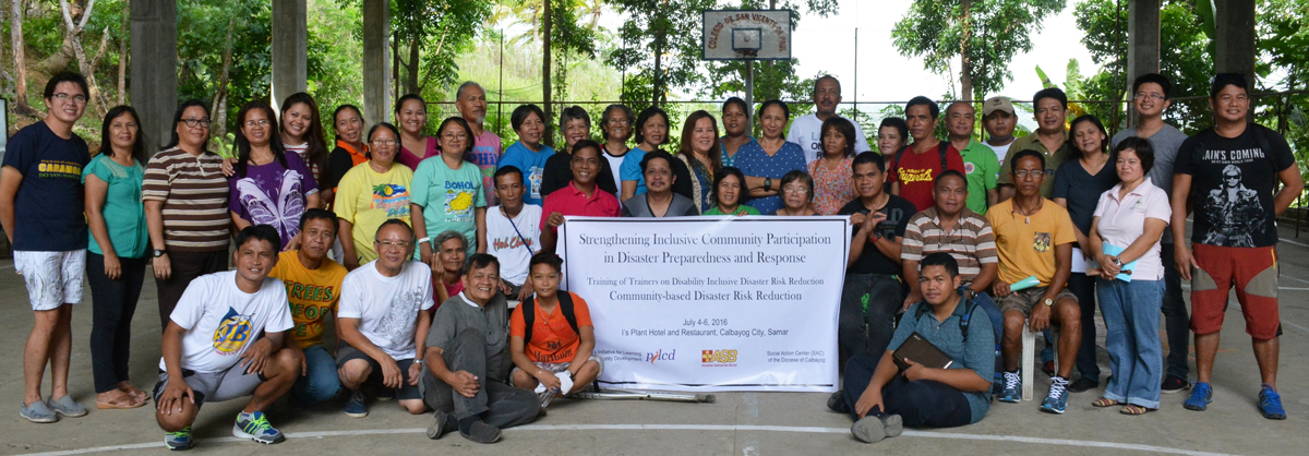 Strengthening Capacities of Local Communities for Inclusive Community Based Disaster Risk Reduction