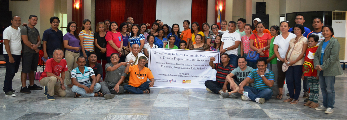 Strengthening Inclusive Community Participation in Disaster Preparedness and Response