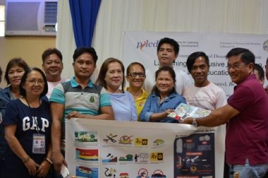 Launching of Inclusive DRRM Materials in Samar
