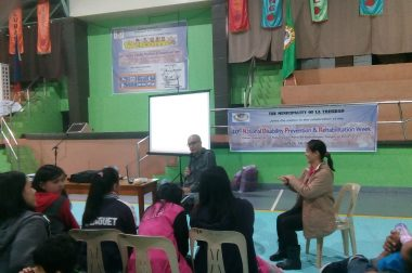 NDPR Celebration in La Trinidad, Benguet