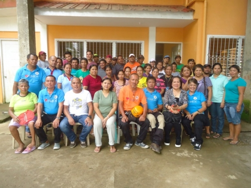 Community Drill in Begaho, Calbayog