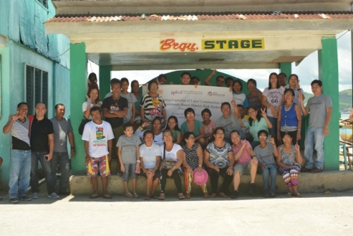 Community Roll Out CBDRRM in Darahuway Daco, Catbalogan