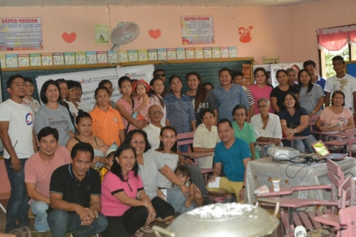 Community Roll Out CBDRRM in Lagundi, Catbalogan
